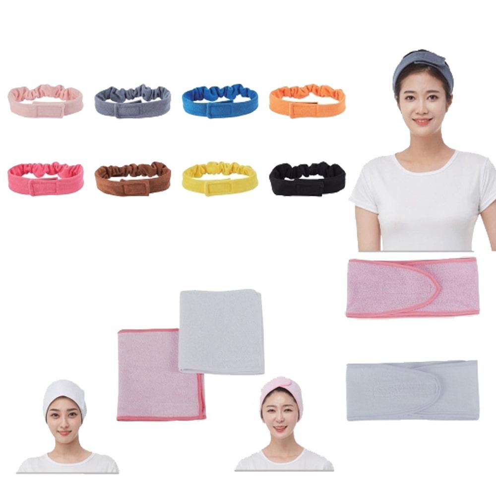 라인 머리띠 터번 스카프 넥셔터 미용재료 헤어샵 미용