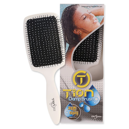 TION Damp Brush-저즌머리 패들 브러쉬(색상랜덤)