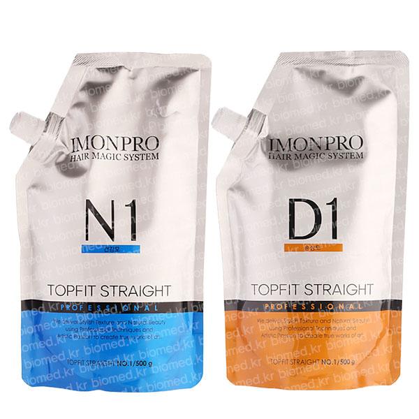 [아름다운화장품] 아이몬프로 탑핏 스트레이트 1제(500g)+2제(500g)